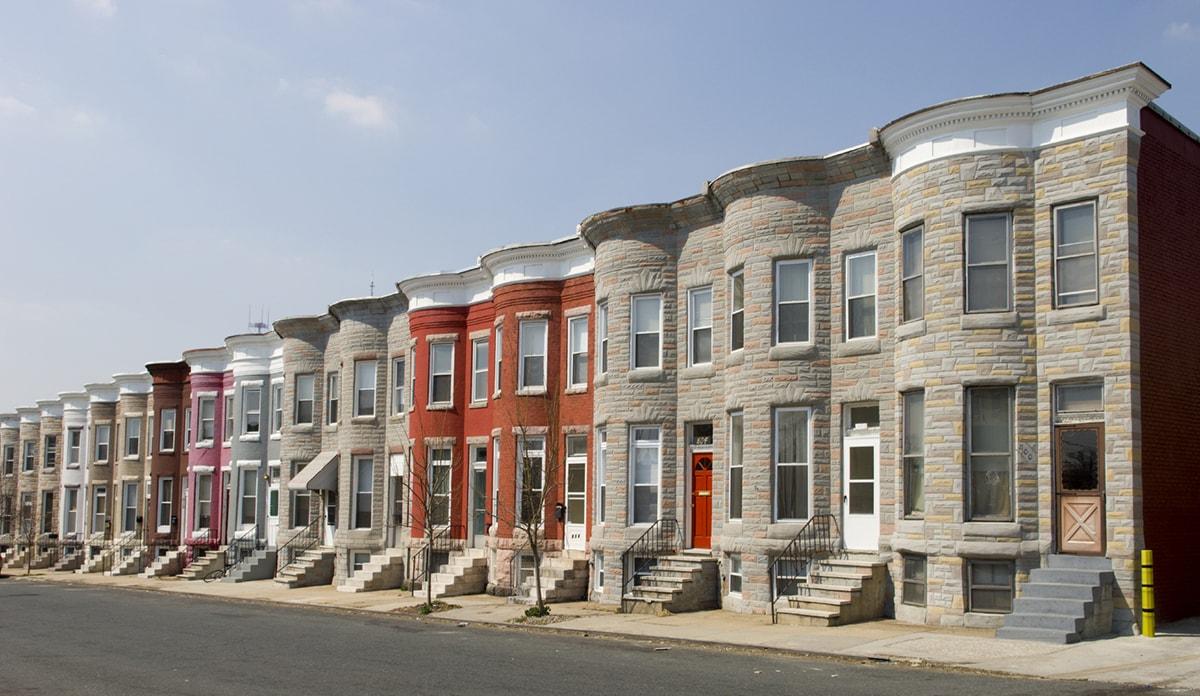 appraising real estate in Baltimore city